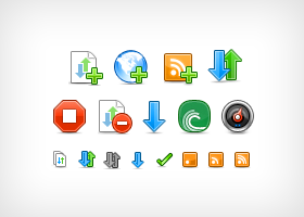 uTorrent for Mac Icons